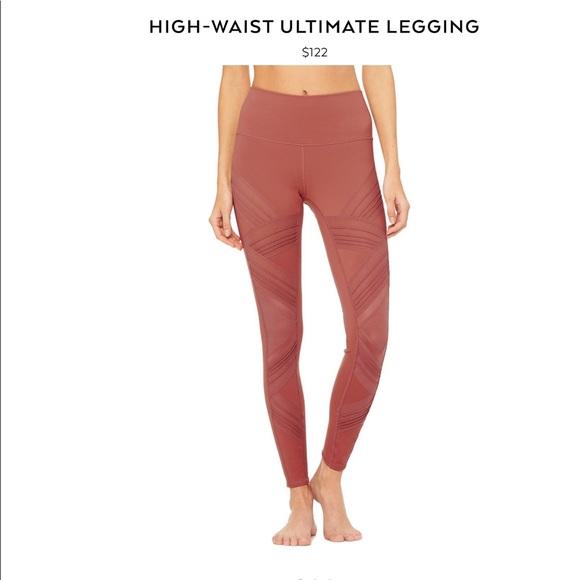 f6cb198f67 ALO Yoga Pants | Nwt Ultimate High Waist Legging | Poshmark